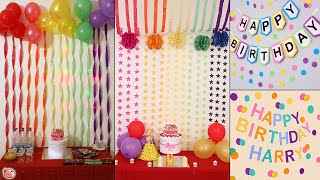 Trendy! Party Decoration At Home! Low Budget | Birthday, Anniversary, Engagement Party
