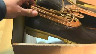 LL Bean - Rubber Bean Boots Made In Maine - Lesson Of Quality Over Price Savings