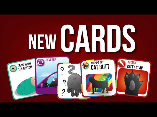 Видео к игре Exploding Kittens - Official