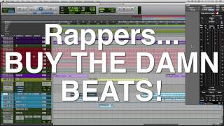 Rappers Stealing Beats | Creating Space In Mix For Vocals With EQ [Mix Talk Monday]
