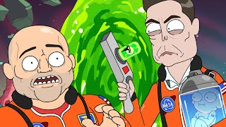Elon Musk and Joe Rogan get a cartoon