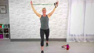 FREE 10- Minute Travel & Tone Resistance Band Workout by Get Healthy U - with Chris Freytag