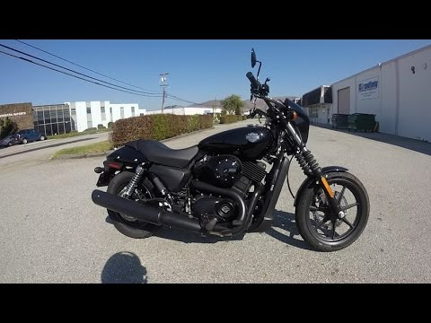 2017 Harley Davidson Street 500 - Test Ride Insights - Is this a real Harley ? South San Francisco