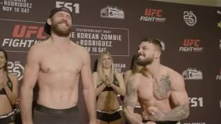 UFC Fight Night Denver: Careos del Pesaje Oficial