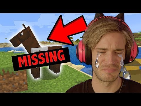I LOST my horse in Minecraft (REAL TEARS)