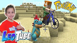 Excursion en Bici por PIXELMON Minecraft