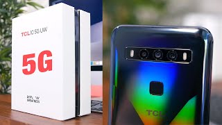 TCL 10 5G UW Unboxing: Verizon's Cheapest 5G Smartphone!