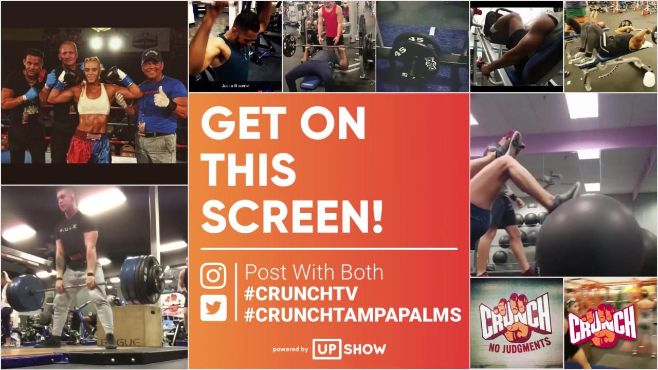 Image result for Crunch Gym social media