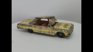Matchbox No 20 Chevrolet Impala Taxi – Restoration Video