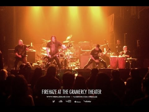 FireHaze Opening for Moonspell at The Gramercy Theatre