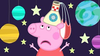 Peppa Pig English Episodes 🚀 Peppa Pig's Fun Time At The Space Museum | Peppa Pig Official | 4K