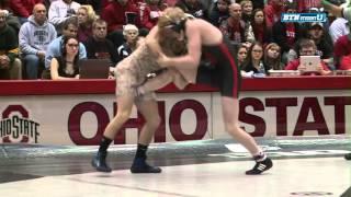 Nebraska Cornhuskers at Ohio State Buckeyes Wrestling: 125 Pounds - Tim Lambert vs. Nathan Tomasello
