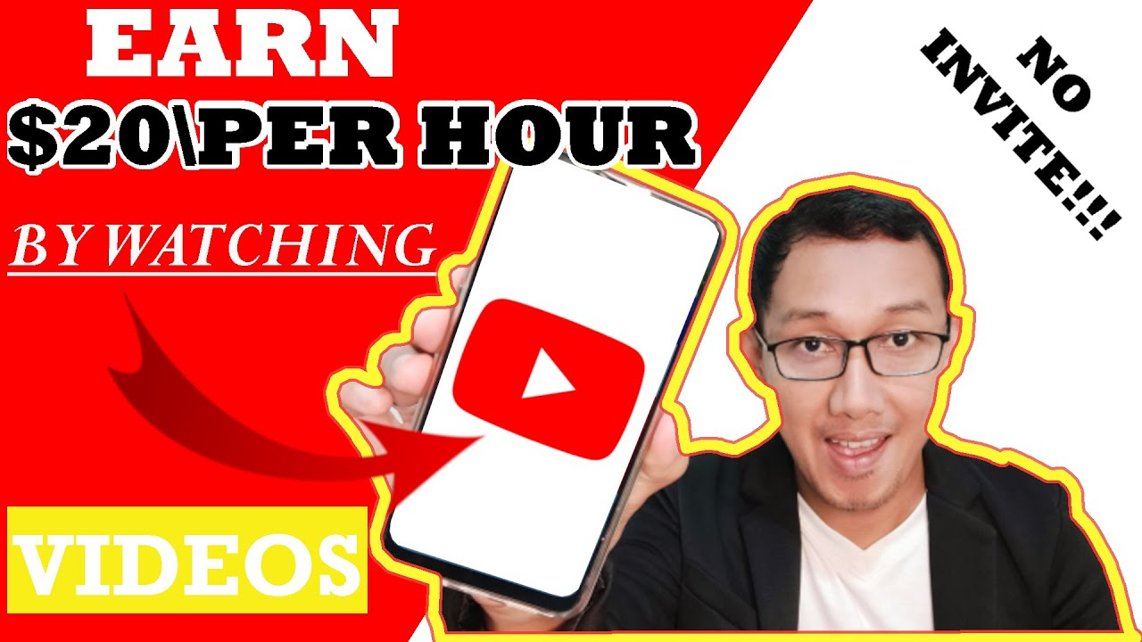 NO WELCOME! Make $10 Per Hour Enjoying YouTube Videos (New Website) thumbnail