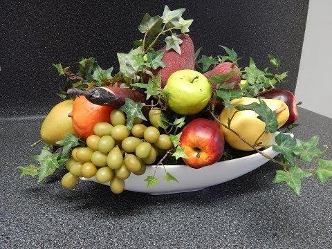 Arreglo de Frutas Artificiales