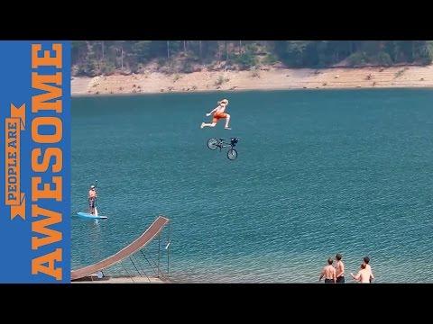 אנשים מדהימים - סרטון פעלולי אופניים מדליקים