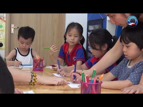 Giờ học Toán của trẻ tại Rosemont Kindergarten