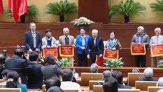 Đồng chí Trương Thị Mai thăm và làm việc tại tỉnh Tuyên Quang