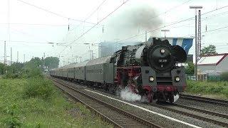 Eine Spitzmaus im Rheinland   01 519 unterwegs mit Westfalendampf (HD)