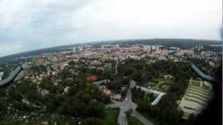 preview picture of video 'Oktokopter + GoPro HD Testflug'