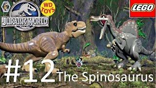 Jurassic World Lego Game Level 12: The Spinosaurus Gameplay Walkthrough By WD Toys