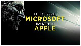 El día en que #Microsoft invirtió en #Apple