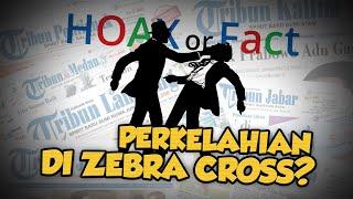 Hoax Or Fact: Perkelahian Tiga Pria di Zebra Cross dekat Gedung Sarinah Jakarta Pusat?