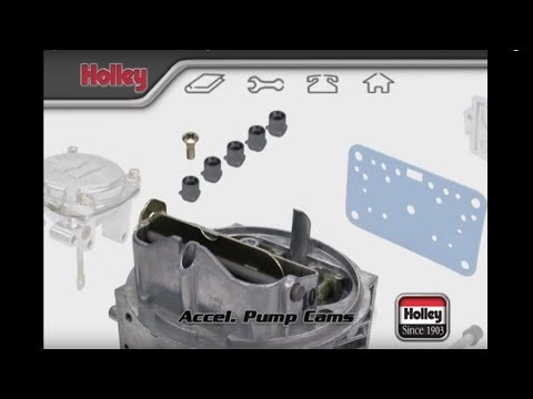 Accelerator Pump Cam Selection And Installation On Holley Carbs
