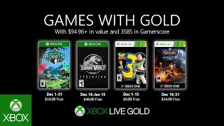 Games With Gold di dicembre