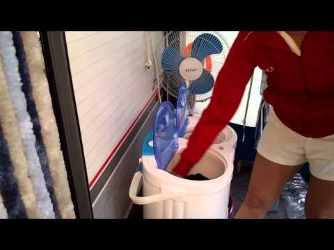 USO DE MI NUEVA lavadora portatil Tagarus