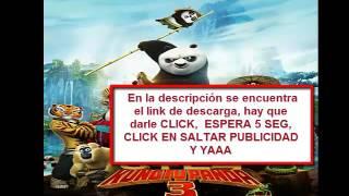Descargar KUNG FU PANDA 3 Con MEGA En HD Español Latino