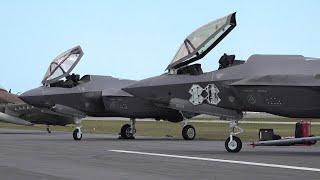 F 35A Lightning II Start Up | FL, Melbourne Air & Space Show