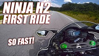 First Ride On My New Ninja H2