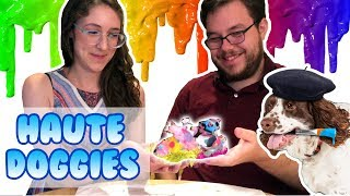 HAUTE DOGGIES crafting!
