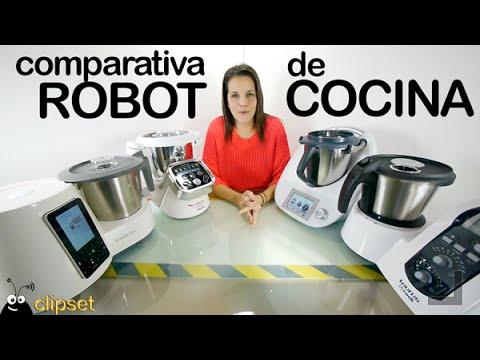Comparativa robot cocina Thermomix, SuperCook, Moulinex Cuisine Companion, Taurus MyCook en español