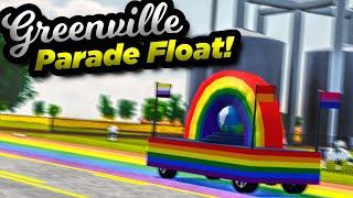 PARADE FLOAT IN GREENVILLE? | Roblox Greenville