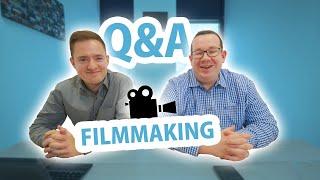 Filmmaking Q&A: First paid job, lost footage & future camera technology