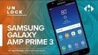 How To SIM Unlock Cricket SAMSUNG Galaxy Amp Prime 3 (SM-J337AZ).