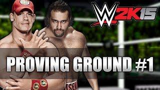 LOLCENAWINS #1 - Rusev (WWE 2K15 Proving Ground)