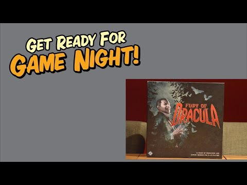 Get Ready for Game Night! - How to play Fury of Dracula