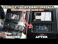 Ford F 150 Car Stereo Installation Metra 99 5834CH and Sony XAV AX5000