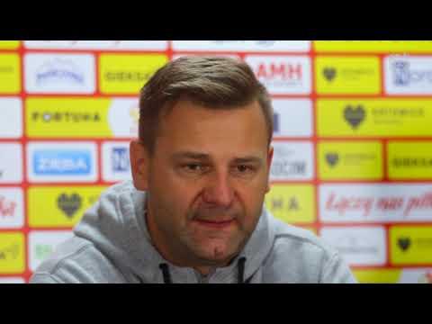 Trenerzy po meczu GKS Katowice - Stomil Olsztyn