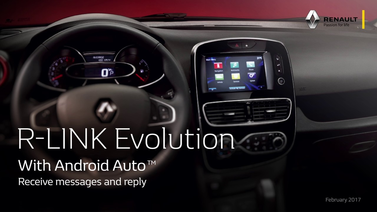 Android Auto™ – Renault Easy Connect
