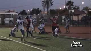 preview picture of video 'Yaks de Hermosillo derrota 13 - 8 a Knights J1 AEFAS 2012 Juvenil B'
