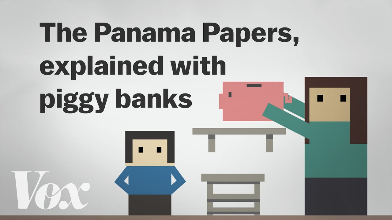 The Panama Papers, explained with piggy banks thumbnail