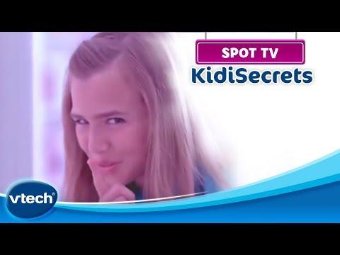 Kidi Secrets -  Un agenda électronique parlant pour enregistrer ses secrets ! | VTech