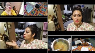 Kuch aisa connection h uske aur mere binch ?? Indian Afternoon To Dinner Routine