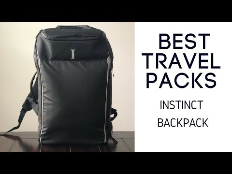 Best Travel Packs: Instinct Backpack (and Accessories) Review
