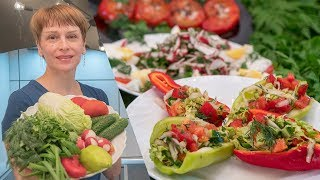 Новинка - Три салата нарасхват! Вкусные рецепты на скорую руку!