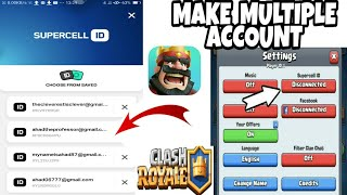 How To Make Another Clash Royale Account Using the SAME DEVICE!! 2020