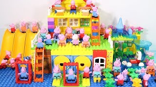 Peppa Pig Lego House Toys For Kids - Lego House With Water Slide Creations Toys #15